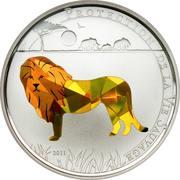 100 francs CFA (Lion) – revers