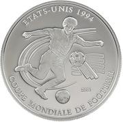1000 francs CFA (Coupe du Monde de football) – revers