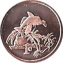 1 cent - Élisabeth II – revers