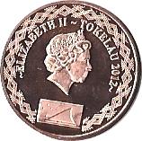 2 cents - Élisabeth II – avers