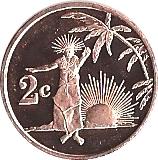 2 cents - Élisabeth II – revers