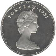 1 tala - Elizabeth II (2° effigie) – avers
