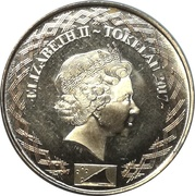 1 Cent - Elizabeth II (4ème portrait) – avers