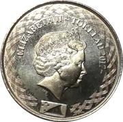2 Cents - Elizabeth II (4ème portrait) – avers