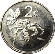 2 Cents - Elizabeth II (4ème portrait) – revers