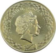 5 Cents - Elizabeth II (4ème portrait) – avers