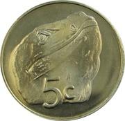 5 Cents - Elizabeth II (4ème portrait) – revers
