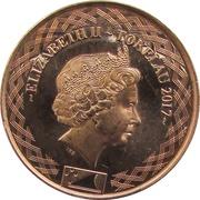 10 Cents - Elizabeth II (4ème portrait) – avers