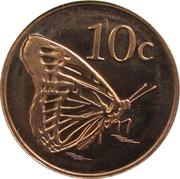 10 Cents - Elizabeth II (4ème portrait) – revers