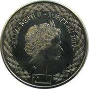 20 Cents - Elizabeth II (4ème portrait) – avers