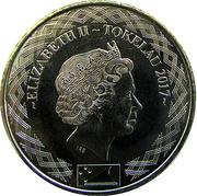 50 Cents - Elizabeth II (4ème portrait) – avers