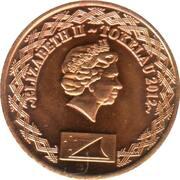 1 cent - Élisabeth II – avers