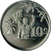 10 cents - Élisabeth II – revers