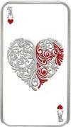 1 Dollar - Elizabeth II (Hearts) – revers