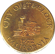 Token - City of Turlock – avers
