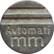 Token - Avtomati mm – avers