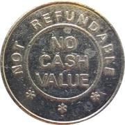 Token - Silver Dollar – revers