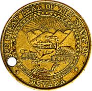Token - Nevada State – avers