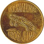 Token - Mark Twain Centennial (Frog Jump) – revers