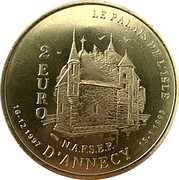 2 euro Annecy [74] – revers
