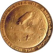 Token - Apollo 11 (First On The Moon) – revers