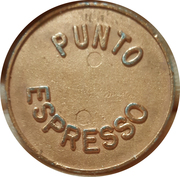 Jeton de machine à café - Punto Espresso – avers