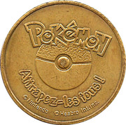 Jeton pokemon # 149 Dracolosse – revers