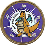 Jeton pokemon # 149 Dracolosse – avers
