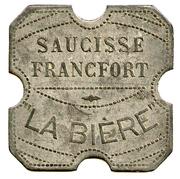 Saucisse Francfort  -La Bière - Paris [75] – revers