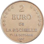 2 euros de La Rochelle [17] – avers
