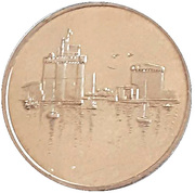 2 euros de La Rochelle [17] – revers