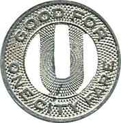 Utica Lines N.Y.S. Rys. – revers