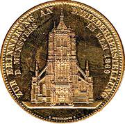 Restoration Ulmer Münster – revers