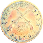 10 cent token Baltimore Shooting Park – avers