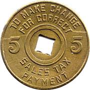 Mississippi Sales Tax 5  TC-89078 -  revers