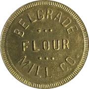 100 Pounds - Belgrade Flour Mill Co. – avers