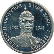 Wilhelm II 1859-1941 – avers