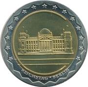 Token - Währungsunion Europa (Berlin - Reichstag)) – avers