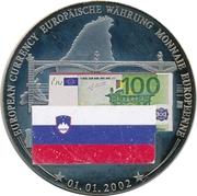 Token - European Currency (Slovenia - 100 Euro) – avers