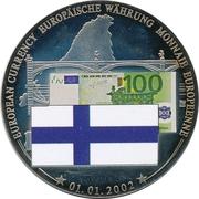 Token - European Currency (Finland - 100 Euro) – avers
