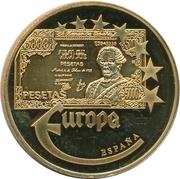 Token - Europe (Spain - 5000 Pesetas) – avers