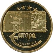 Token - Europe (Slovenia - 10 Tolarjev) – avers