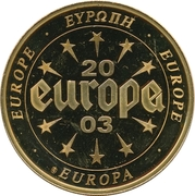 Token - Europe (Slovenia - 10 Tolarjev) – revers