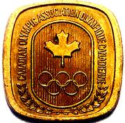 Canadian Olympic Association (Track and Field) – revers