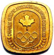 Canadian Olympic Association (Volleyball) – revers