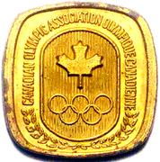 Canadian Olympic Association (Wrestling) – revers