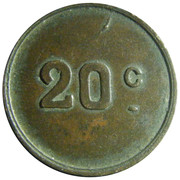 20 centimes – revers