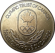 Olympic Trust of Canada - Gymnastics – revers