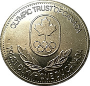 Olympic Trust of Canada - Luge – revers