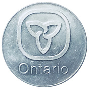 Ontario Medallion – avers